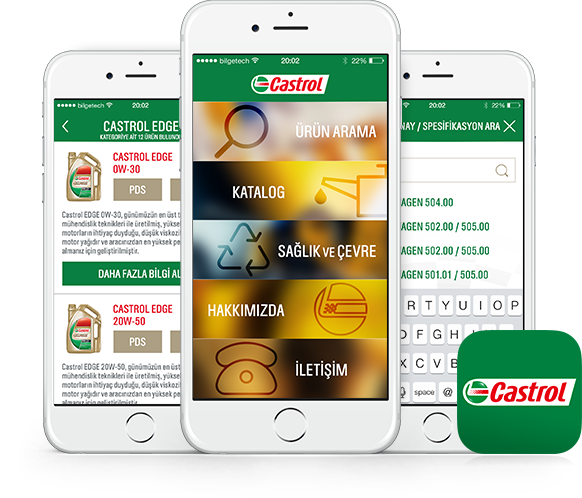 Castrol Digital Catalog